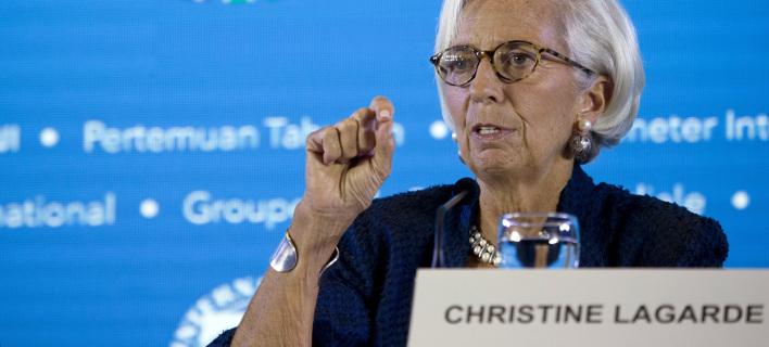Η γεν. διευθύντρια του ΔΝΤ Κριστίν Λαγκάρντ, φωτογραφία: apimages