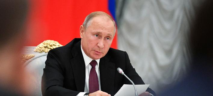Ο Βλαντίμιρ Πούτιν/ φωτογραφία: ap