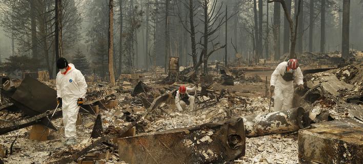 Πυρκαγιά στην Καλιφόρνια, φωτογραφία: apimages