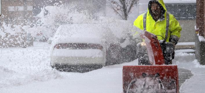 Χιόνια, φωτογραφία: apimages