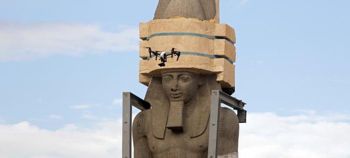 Το άγαλμα του βασιλιά Ραμσή ΙΙ