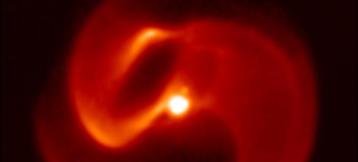 Το σύστημα αστέρων Apep / Φωτογραφία: University of Sydney/European Southern Observatory