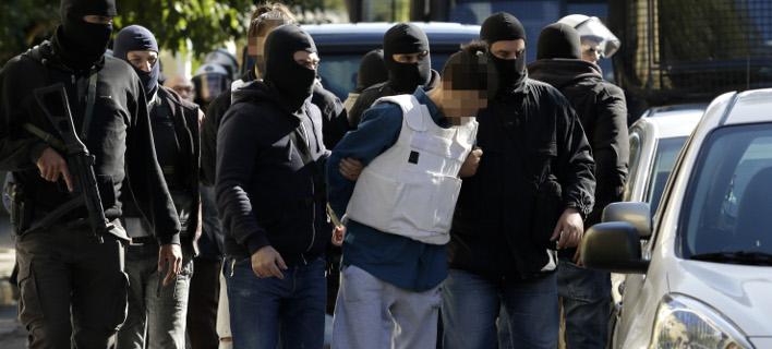 Ο 29χρονος που συνελήφθη για τους τρομοφακέλους (Φωτογραφία: EUROKINISSI)