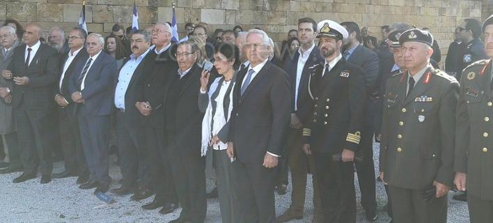Ο Ευάγγελος Αποστολάκης παραβρέθηκε στις εκδηλώσεις στα Χανιά/ Φωτογραφία: zarpanews