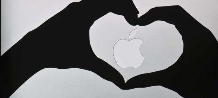 Το σήμα της Apple, ίσως το πιο γνωστό logo τεχνολογίας