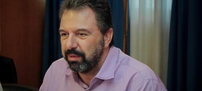 Ο Σταύρος Αραχωβίτης (Φωτογραφία: ΧΡΗΣΤΟΣ ΜΠΟΝΗΣ/ EUROKINISSI)