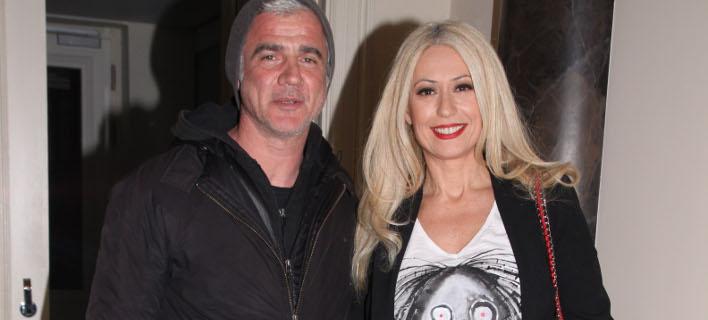 Δημήτρης Αργυρόπουλος - Μαρία Μπακοδήμου. Φωτογραφία: Ndp photos