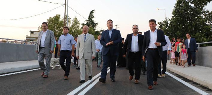 Δόθηκε στην κυκλοφορία η γέφυρα Στρυμονικού/ Φωτογραφία voria.gr
