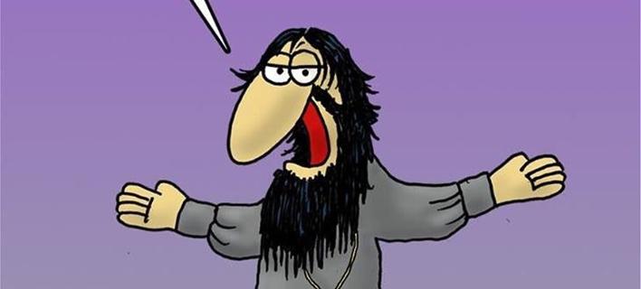 Το καυστικό σκίτσο του Αρκά για τους χειρισμούς της κυβέρνησης στην υπόθεση Novartis