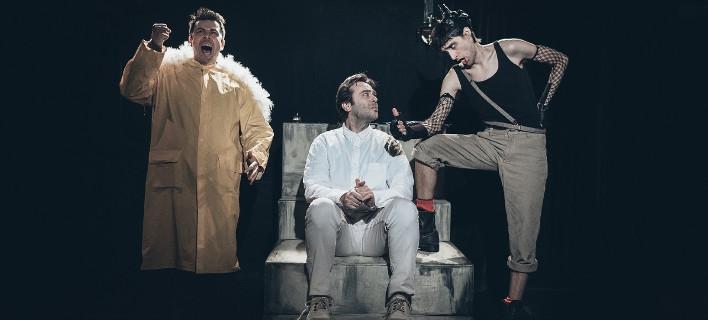 O Aρκάς κάνει θεατρικό τους ήρωες του -Επί σκηνής ο Θανατοποινίτης, ο Ισοβίτης, ο Καστράτο [εικόνες]