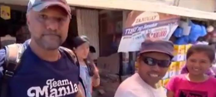Επικός διάλογος Αρναούτογλου με Φιλιππινέζο παγωτατζή: «Από τη Θεσσαλονίκη είσαι;» [βίντεο]