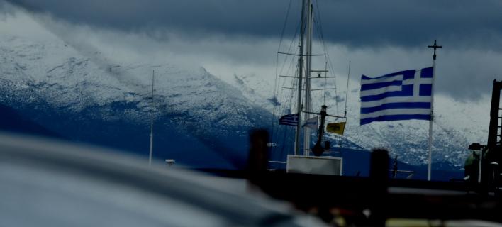 Χιόνια στα βουνά του Αργους / Φωτογραφία: Eurokinissi