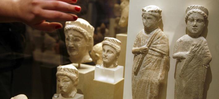 Κυπριακές αρχαιότητες, φωτογραφία: eurokinissi