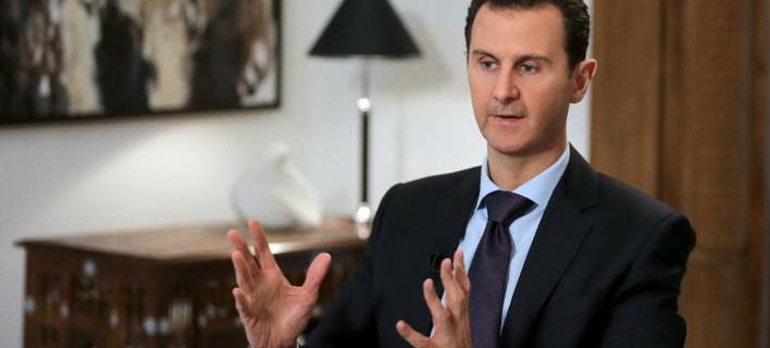 Aσαντ: Να σταματήσουν οι Ευρωπαίοι να καλύπτουν τρομοκράτες, ώστε να γυρίσουν οι Σύροι στην πατρίδα τους