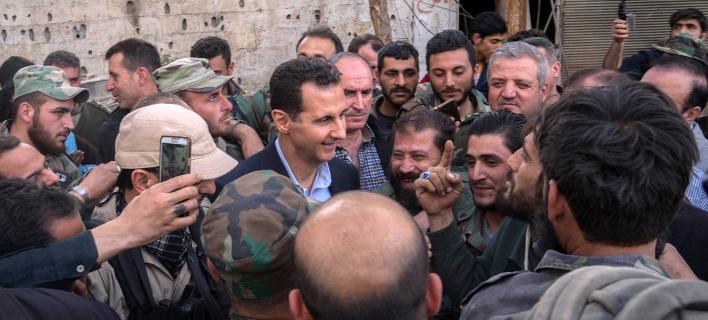 Φωτογραφία: Facebook/Syrian Presidency