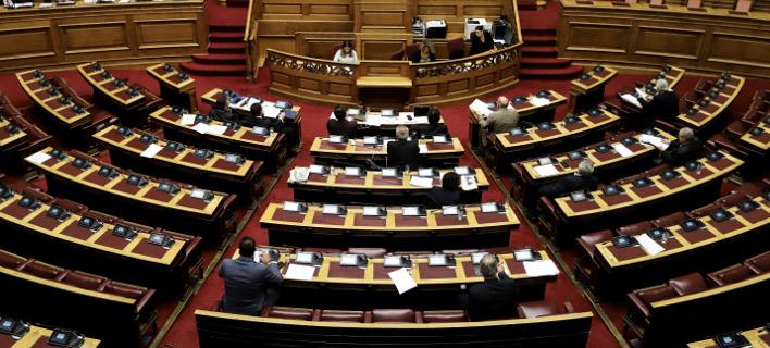 Βουλή (Φωτογραφία: EUROKINISSI/ΓΙΑΝΝΗΣ ΠΑΝΑΓΟΠΟΥΛΟΣ)