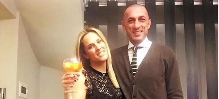 Η Έλενα Ασημακοπούλου με το σύζυγό της, Μπρούνο Τσιρίλο. Φωτογραφία: Instagram