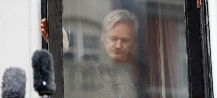 Ο ιδρυτής του Wikileaks Τζούλιαν Ασάνζ (Φωτογραφία αρχείου: ΑΡ)