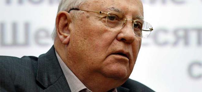 Γκορμπατσόφ: Ο Ομπάμα πρέπει να ακούσει τη γνώμη όλων των λαών για τη Συρία