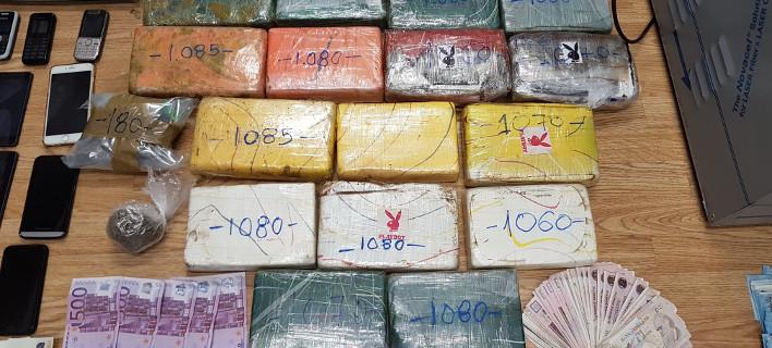 Γνωστός Τρικαλινός επιχειρηματίας στα χέρια της αστυνομίας- Κατασχέθηκαν περισσότερα από 20 κιλά κοκαΐνης [εικόνες]