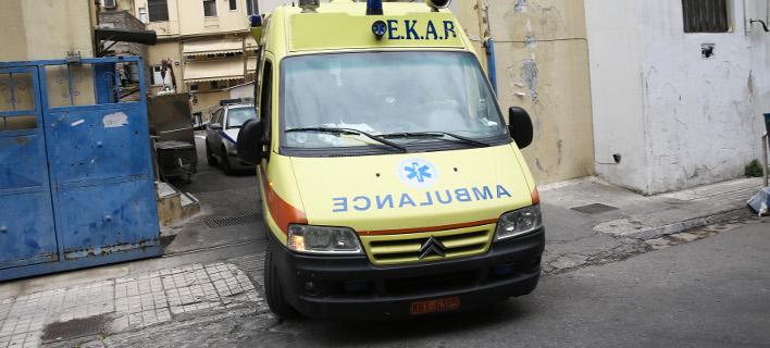 Ασθενοφόρο /Φωτογραφία: Intime News