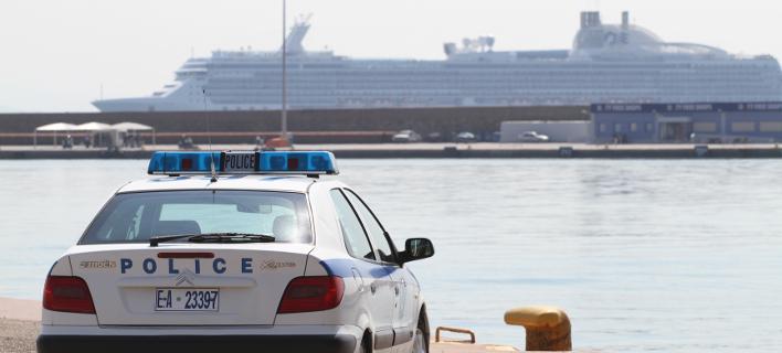 Φωτογραφία: Eurokinissi- Περιπολικό στο λιμάνι