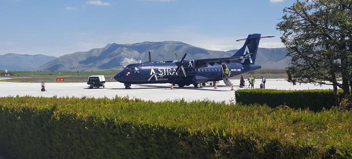 Αεροσκάφος της Astra Airlines / Φωτογραφία: Facebook