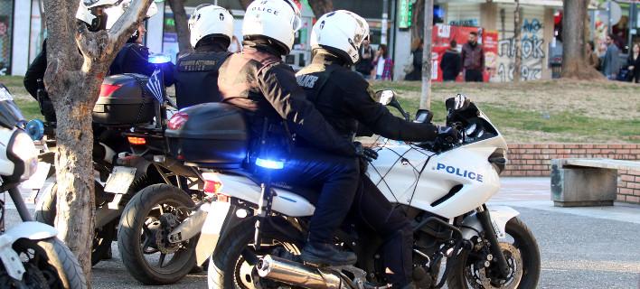 Χτυπούσε με κλωτσιές τη γυναίκα του στη μέση του δρόμου/ Φωτογραφία: ΒΕΡΒΕΡΙΔΗΣ ΒΑΣΙΛΗΣ/Eurokinissi