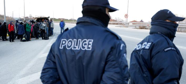 Αστυνομικοί στα σύνορα με την Τουρκία / Φωτογραφία: AP Images