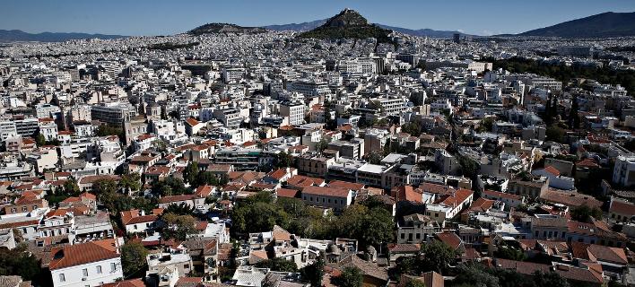 Η Αθήνα από ψηλά/Φωτογραφία:SOOC/ Alexandros Michailidis