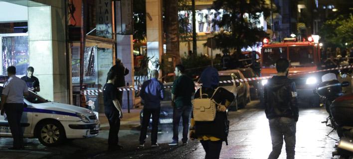 Επίθεση στο Α.Τ. Ομονοίας (Φωτογραφία: EUROKINISSI/ΓΙΑΝΝΗΣ ΠΑΝΑΓΟΠΟΥΛΟΣ)
