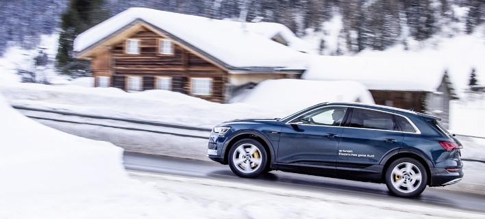 Το Audi e-tron πρωταγωνιστεί στο Παγκόσμιο Οικονομικό Φόρουμ του Νταβός