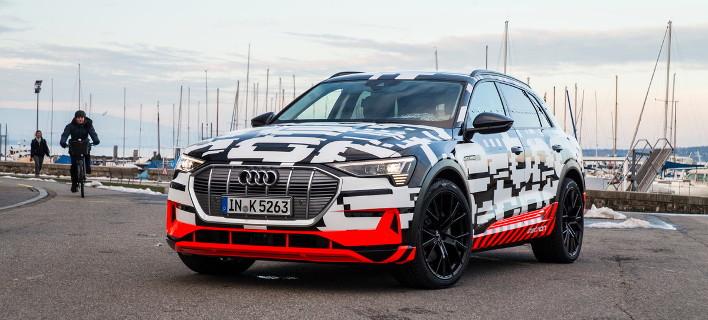 To E-Tron quattro είναι το πρώτο ηλεκτρικό SUV της Audi