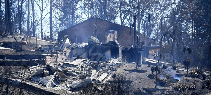 Αυστραλία: Παραθαλάσσια πόλη έγινε στάχτη μετά από πυρκαγιά [εικόνες]