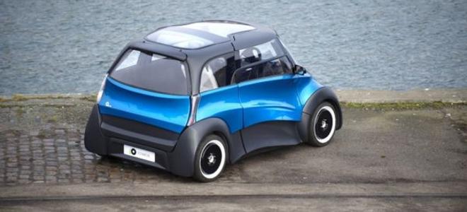 Ένα ηλεκτροκίνητο αυτοκίνητο πόλης που «φυσάει» [εικόνες + βίντεο]