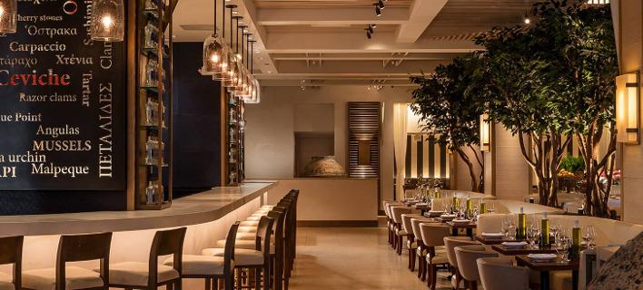 Το ελληνικό εστιατόριο Avra στη Νέα Υόρκη. Φωτογραφία: Avra