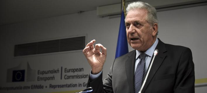 Δημήτρης Αβραμόπουλος/ Φωτογραφία: Eurokinissi- ΜΠΟΛΑΡΗ ΤΑΤΙΑΝΑ