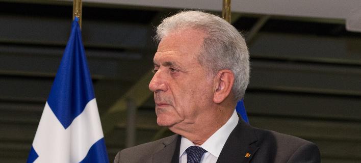 Ο Δημήτρης Αβραμόπουλος κατά της Συμφωνίας των Πρεσπών -Φωτογραφία: © European Union
