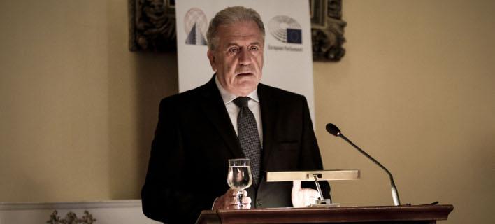Ο Δημήτρης Αβραμόπουλος (Φωτογραφία: EUROKINISSI/ ΓΙΑΝΝΗΣ ΠΑΝΑΓΟΠΟΥΛΟΣ)