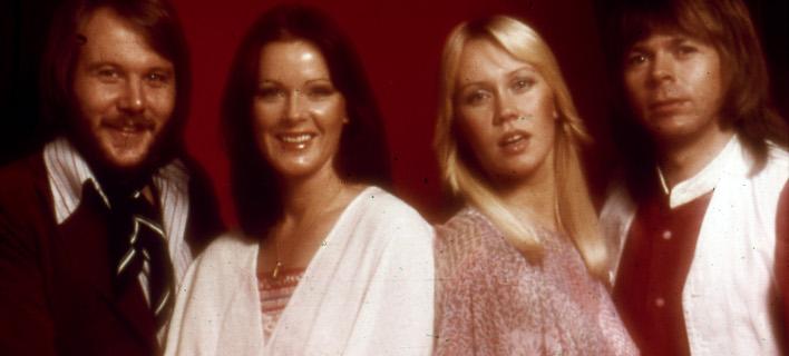Το θρυλικό συγκρότημα των ABBA. Φωτογραφία: AP