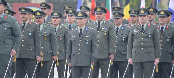αξιωματικοί στρατού/Φωτογραφία: Eurokinissi
