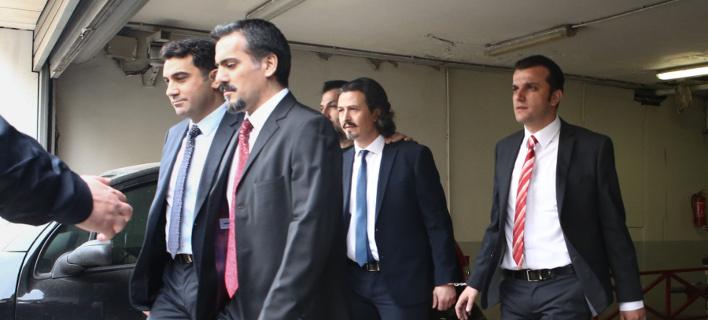 8 Τούρκοι αξιωματικοί (Φωτογραφία: IntimeNews/ΚΑΠΑΝΤΑΗΣ ΔΗΜΗΤΡΗΣ)