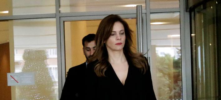 Η υπουργός Εργασίας Έφη Αχτσιόγλου (Φωτογραφία: Eurokinissi)