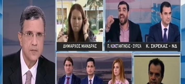 Επίθεση Κωνσταντινέα (ΣΥΡΙΖΑ) στη δήμαρχο Μάνδρας: Μιλάς πολύ αντί να κάνεις πράγματα