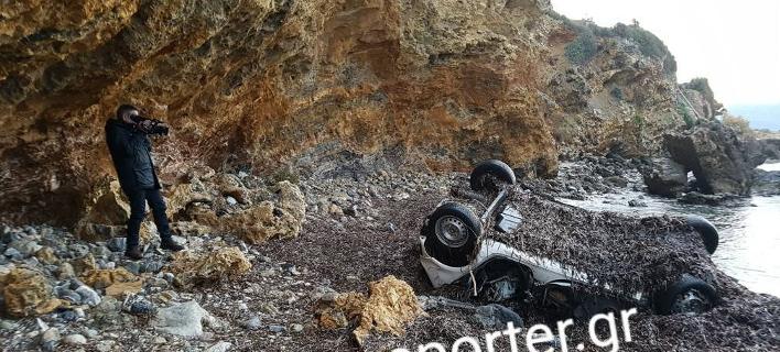 Σε αυτό το αυτοκίνητο βρέθηκε νεκρή η 26χρονη από τη Λακωνία, Φωτογραφία: Photoreporter.gr
