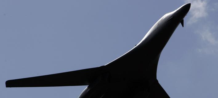 Πτήσεις αμερικανικών βομβαρδιστικών στην κορεατική χερσόνησο (Φωτογραφία αρχείου: AP/ LEFTERIS PITARAKIS)
