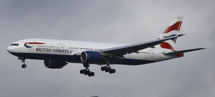 Αεροσκάφος της British Airways χτυπήθηκε από κεραυνό (Φωτογραφία αρχείου: AP/ Frank Augstein)