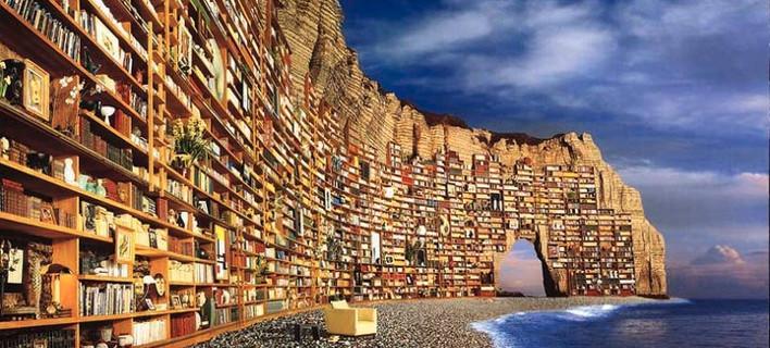 Πόσο μεγάλη θα ήταν η Βιβλιοθήκη της Βαβέλ που ονειρεύτηκε ο Χόρχε Λουί Μπόρχες [εικόνες]