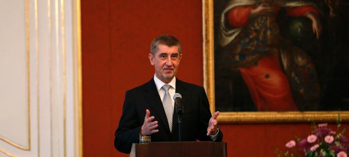 O νικητής των βουλευτικών εκλογών και μελλοντικός πρωθυπουργός της Τσεχίας Αντρέι Μπάμπις/ Φωτογραφία: ΑΡ