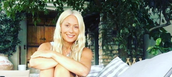 H Μαρία Μπακοδήμου, Φωτογραφία: mariabacodimou/instagram